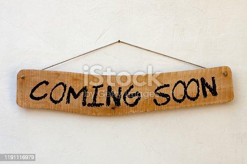 843847560 istock photo Coming Soon Concept 1191116979