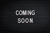 istock Coming Soon - Marquee sign (click for more) 1139441535