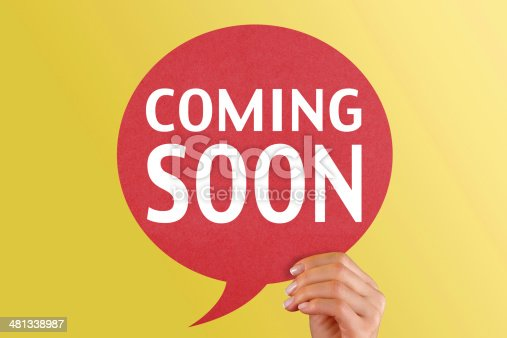 638013502istockphoto Coming Soon on red speech bubble 481338987