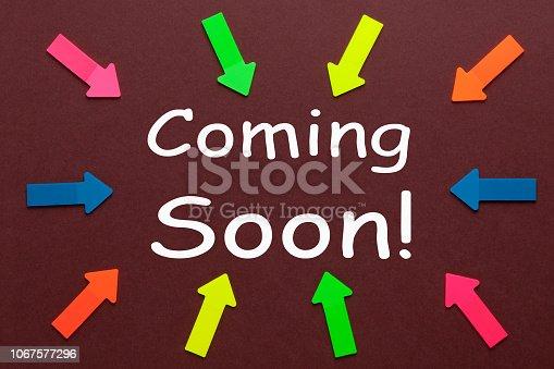 843847560 istock photo Coming Soon 1067577296