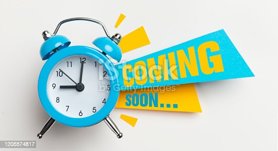 istock Coming Soon 1205574817
