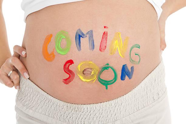 demnächst kürze - lustige babybilder stock-fotos und bilder