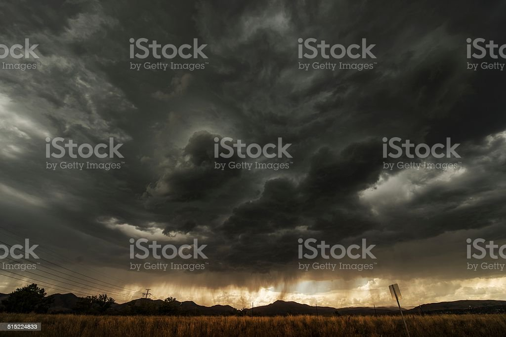 Coming Storm stock photo
