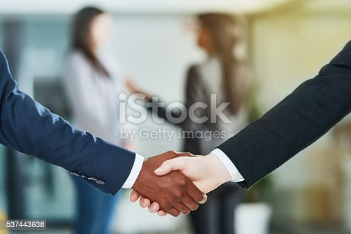 istock Coming to an agreement 537443638
