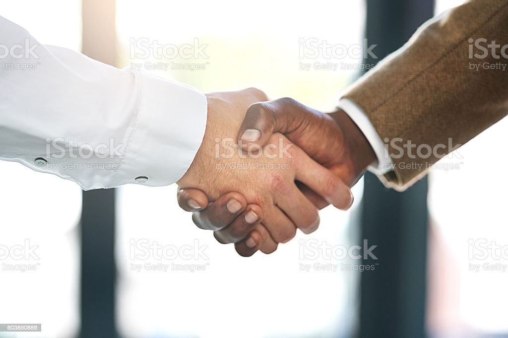 Coming To An Agreement Stock Photo Istock