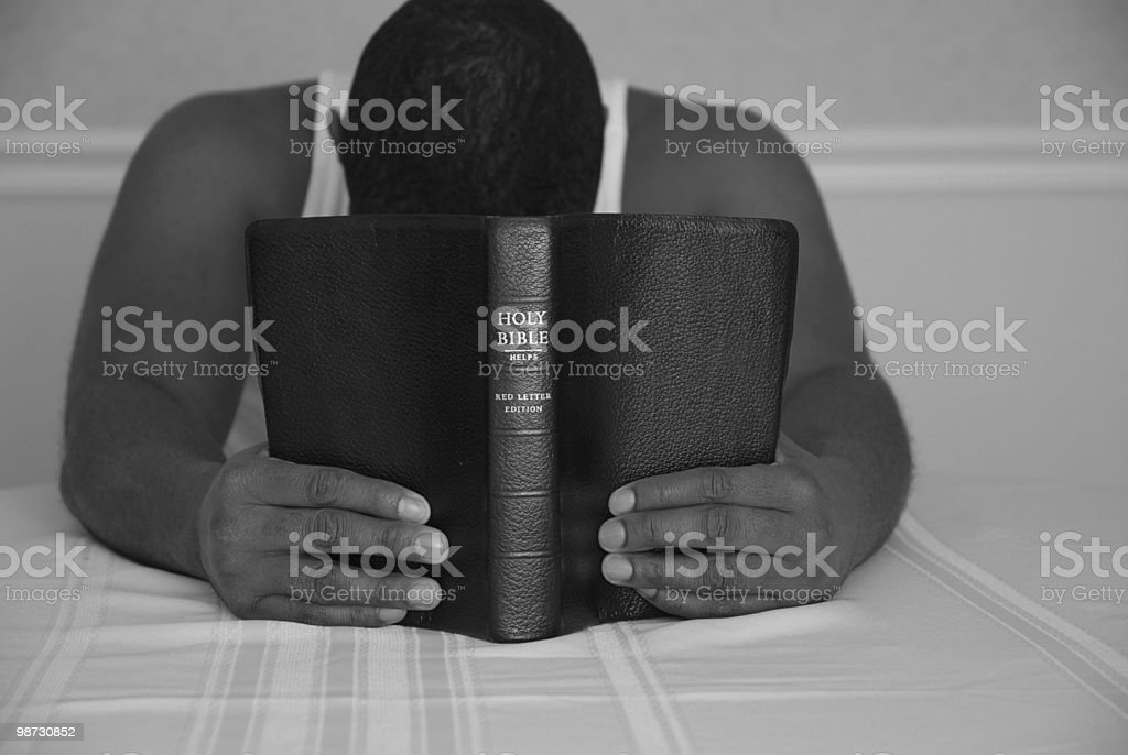 Coming to Jesus moment (Religion) royalty-free stock photo