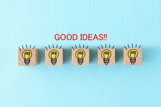 coming up with good idea images - shifts call centre foto e immagini stock