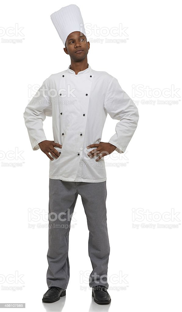 Coming up with new culinary delights stock photo