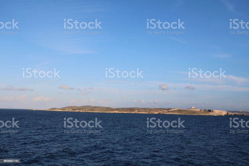 Comino island of Malta, Mediterranean Sea - Royalty-free Bay of Water Stock Photo