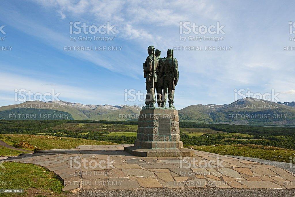 Commando Memorial stock photo