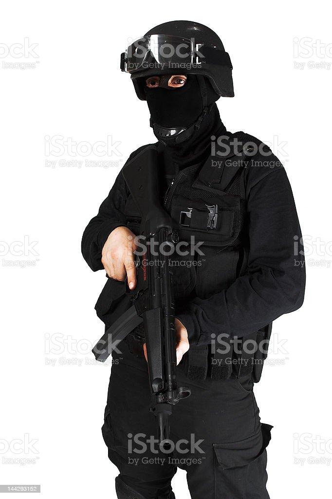 Commando royalty-free stock photo