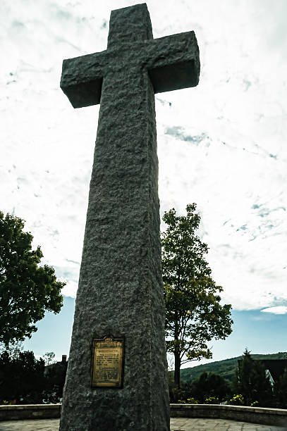 Commemorative Cross stock photo