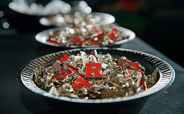 Commencement Ceremony at Rutgers University Camden stock photo