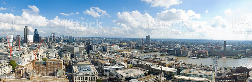 Commerce and culture, London royalty-free stock photo