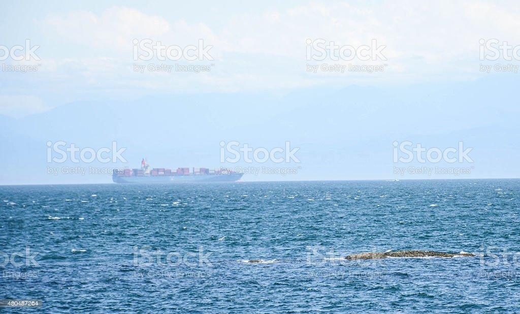 Commerce on the Straits of Juan de Fuca