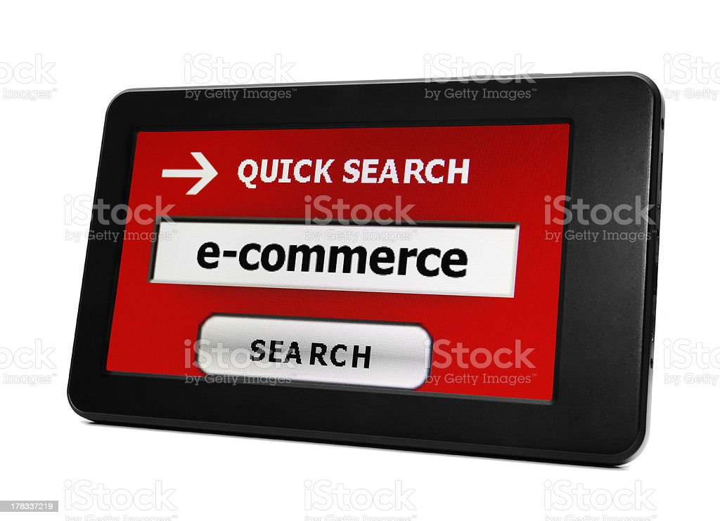 E- commerce royalty-free stock photo