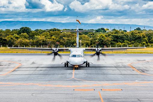 Commercial Aviation: ATR 72-600, Azul Linhas Áereas - Cuiabá International Airport - Várzea Grande, Mato Grosso, Brazil