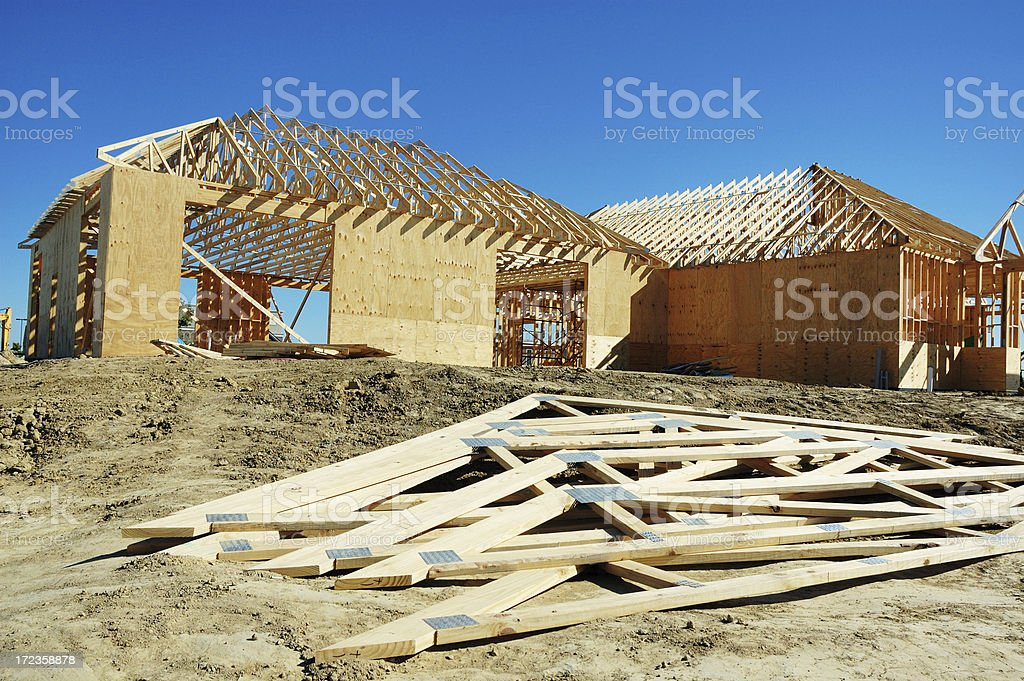 Commercial Building Construction royalty-free stock photo