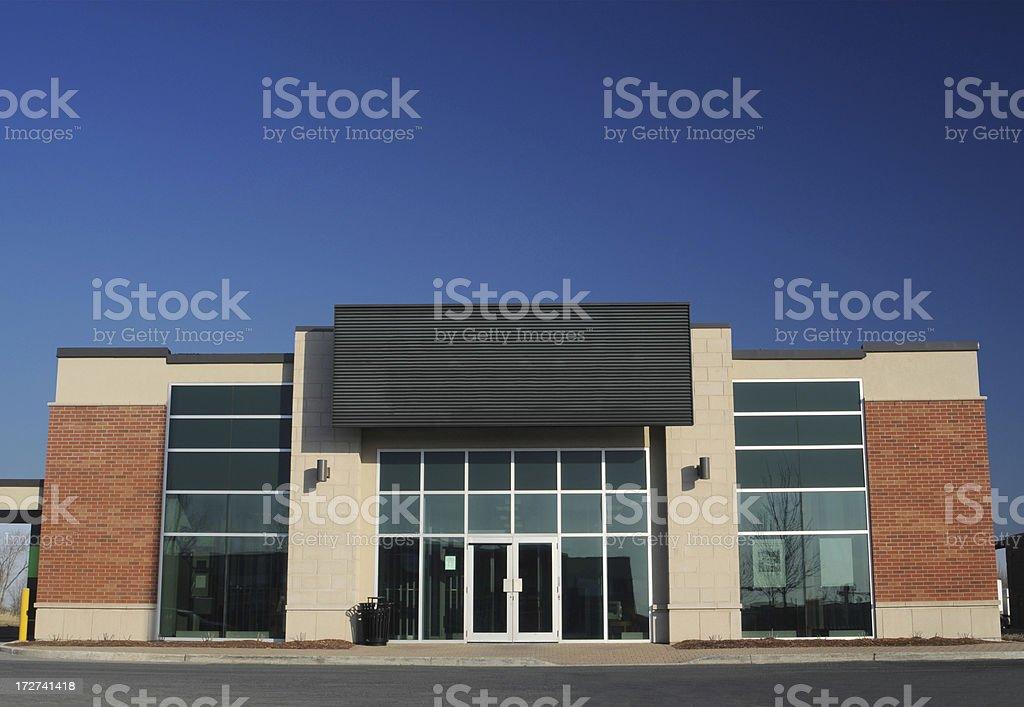 Commercial Building Facade stock photo