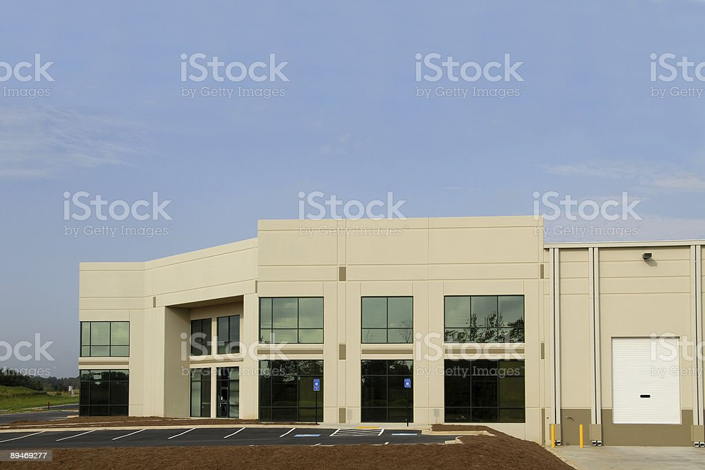 Commercial Center royalty-free stock photo