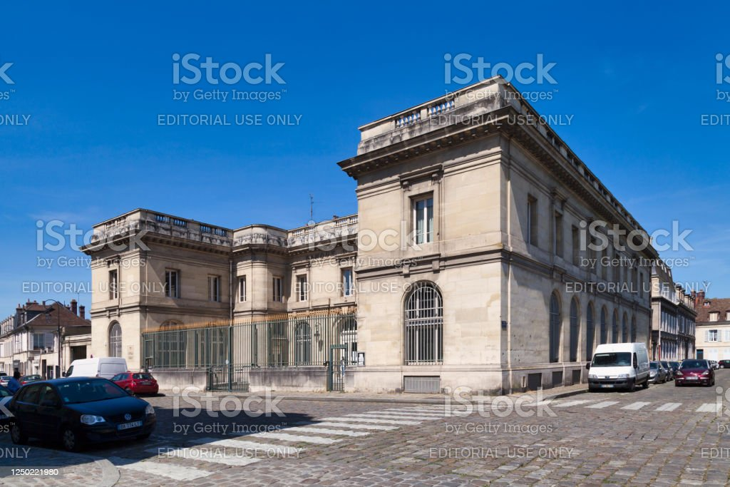 Commercial court in Compiegne - Royalty-free Architecture Stock Photo