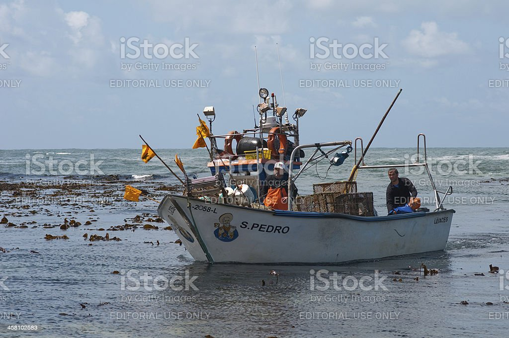 commercial fishing boat royalty-free stock photo