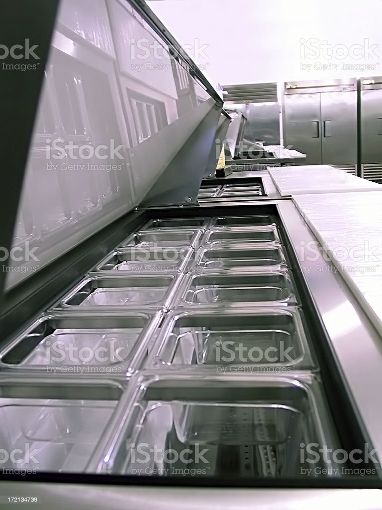 Commercial Food Server royalty-free stock photo
