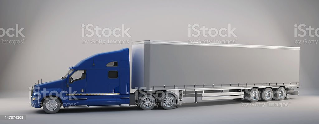 Commercial Land Vehicle royalty-free stock photo