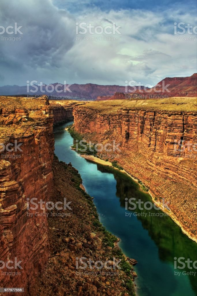 Commercial license  Marble Canyon in Coconino County, Arizona stock photo