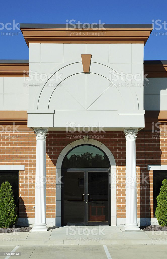 Commercial Real Estate Available royalty-free stock photo