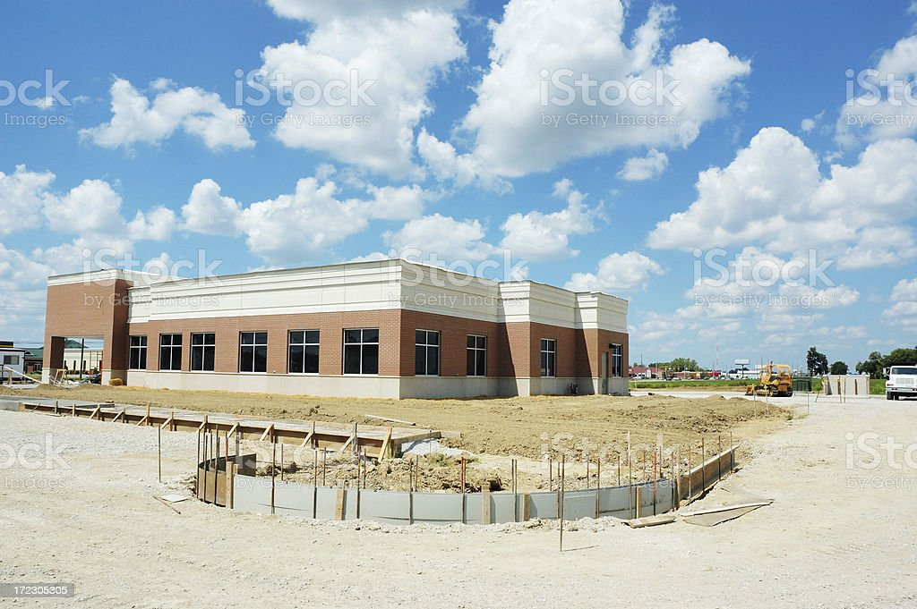 Commercial Real Estate Construction royalty-free stock photo