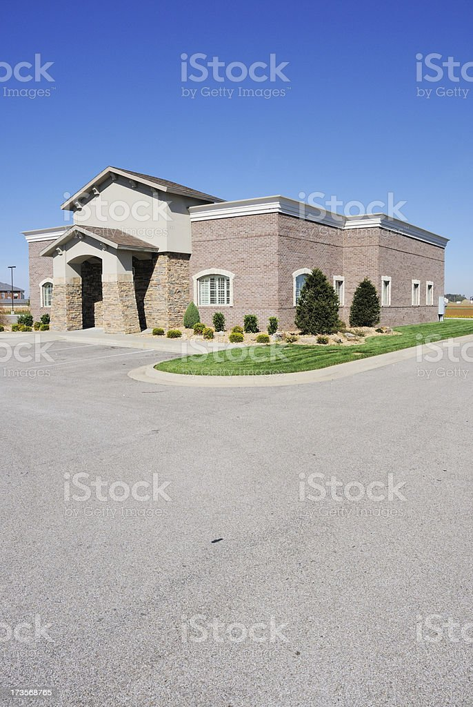 Commercial Real Estate Office Building stock photo