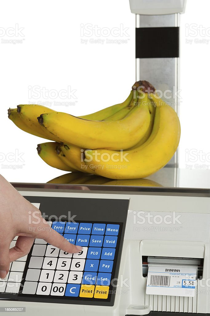 Commercial Scale stock photo