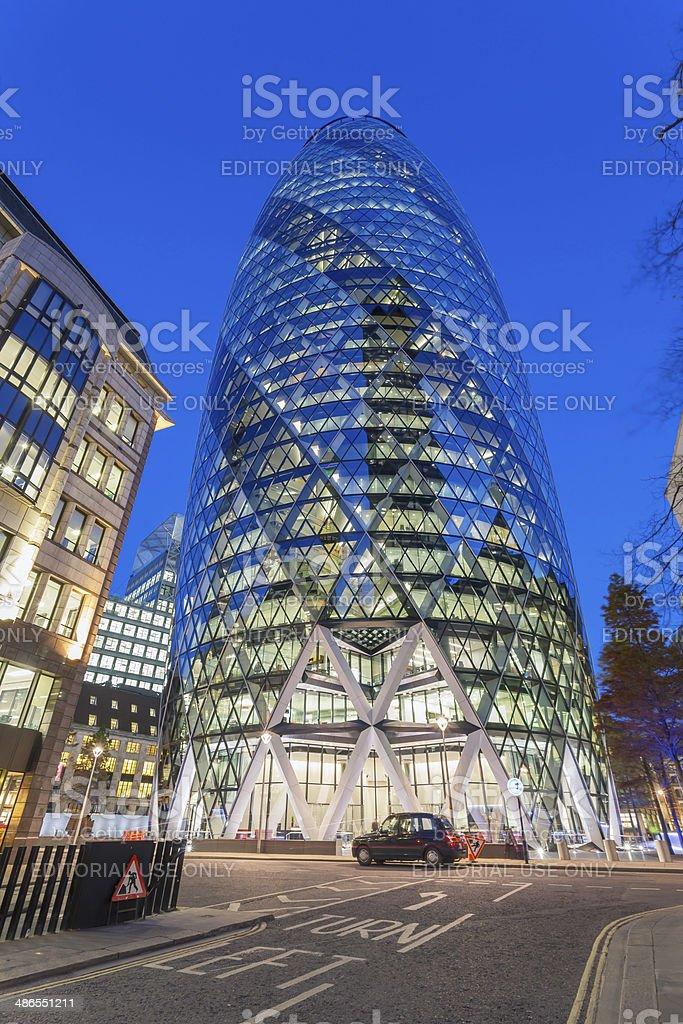Commercial skyscraper stock photo