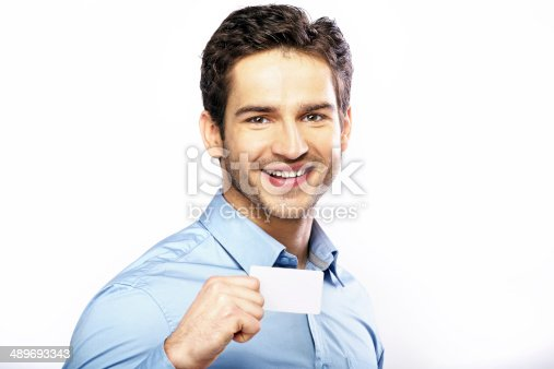 istock Commercial style picture of handsome guy 489693343