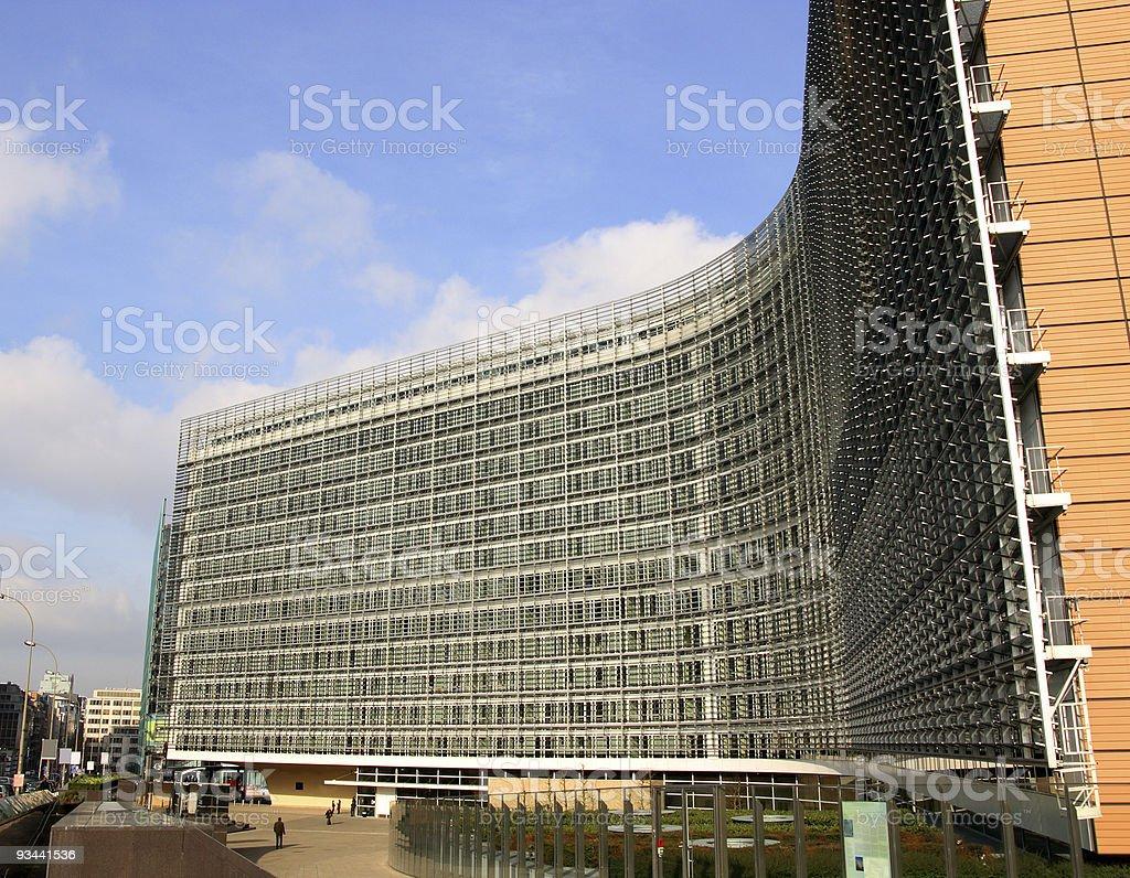 Der EU-Kommission Lizenzfreies stock-foto
