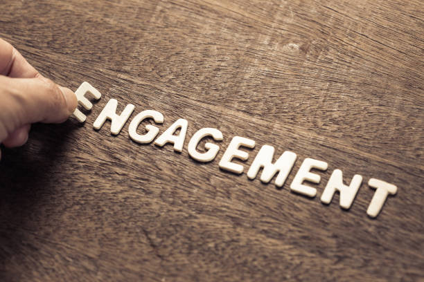engagement marketing - employee engagement stock photos and pictures