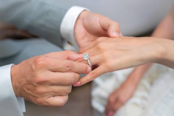 engagemang - förlovningsring bildbanksfoton och bilder