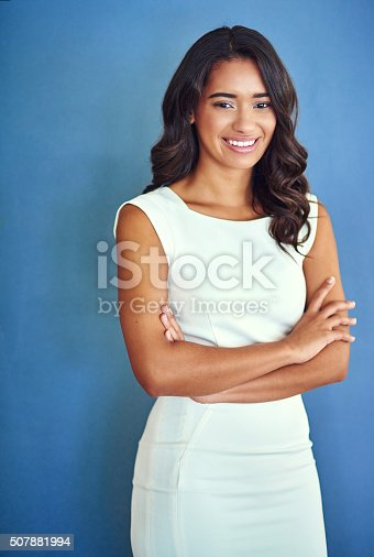 507896586istockphoto Committed to making a success of my career 507881994