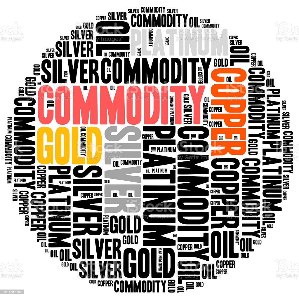 Commodity stock market or trading concept. stock photo