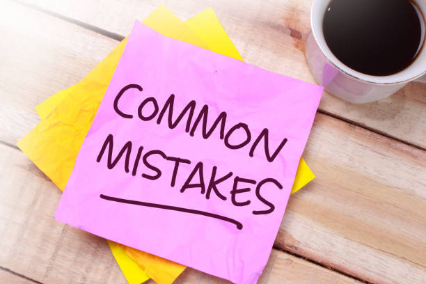 Common Mistakes, Motivational Words Quotes Concept Common Mistakes, business motivational inspirational quotes, words typography top view lettering concept generic description stock pictures, royalty-free photos & images