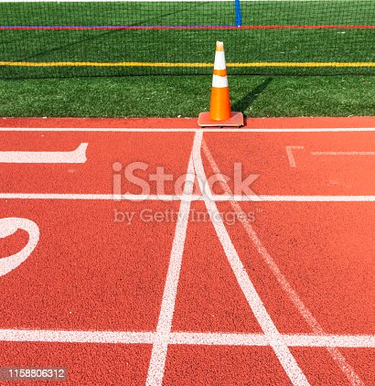 986840244istockphoto Common start and finish line of a track 1158806312
