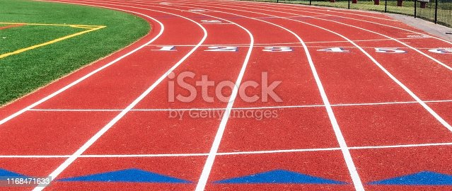 986840244istockphoto Common start line of a track 1168471633