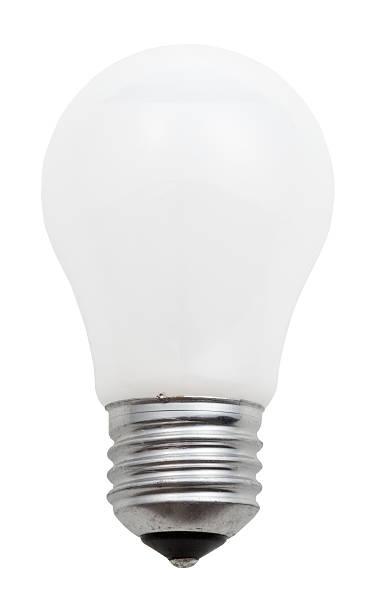 common white leuchtende glühbirne - glühbirne e27 stock-fotos und bilder
