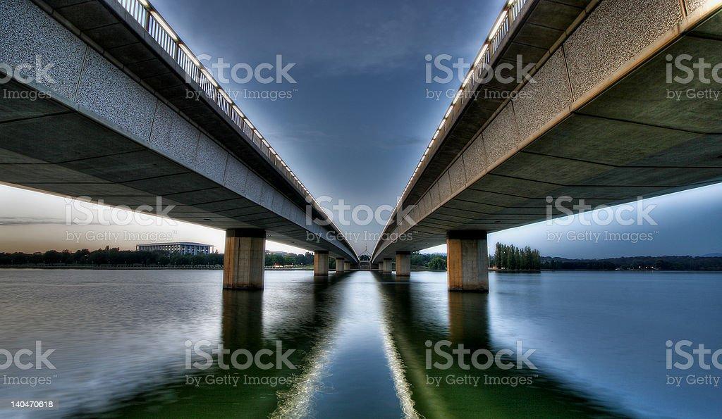 commonwealth avenue bridge stock photo