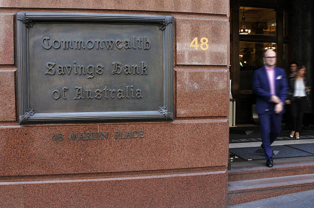 Commonwealth Bank of Australia Sydney New South Wales Australia – Foto