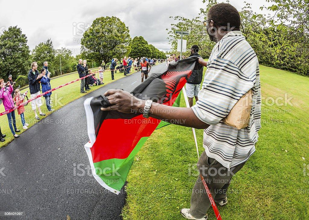 Commonwealth Games Marathon stock photo