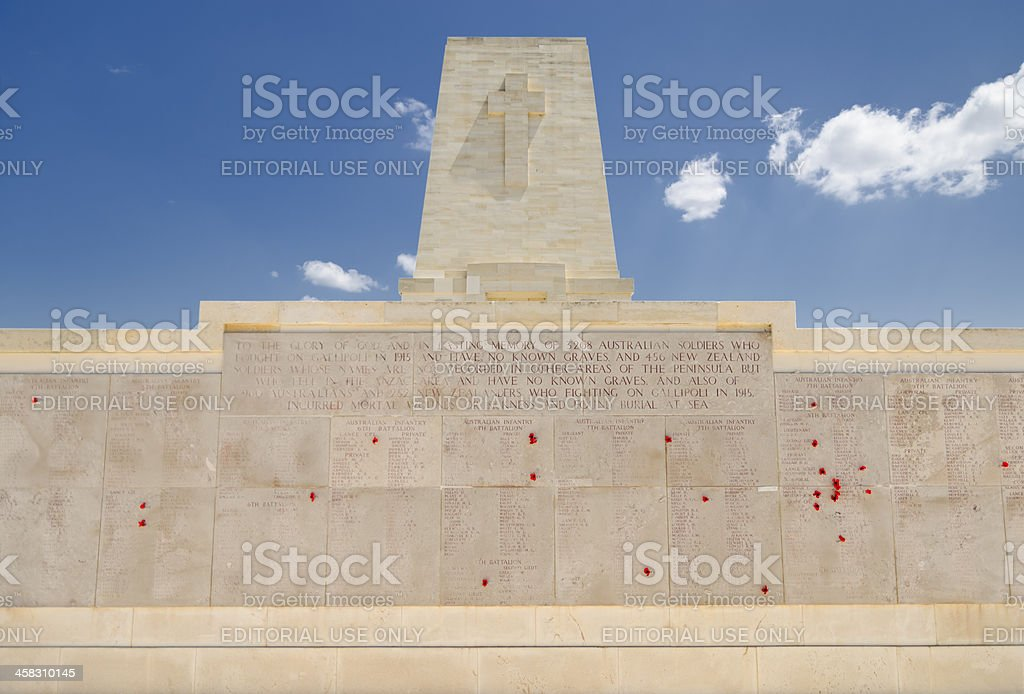 Commonwealth military cemetary royalty-free stock photo