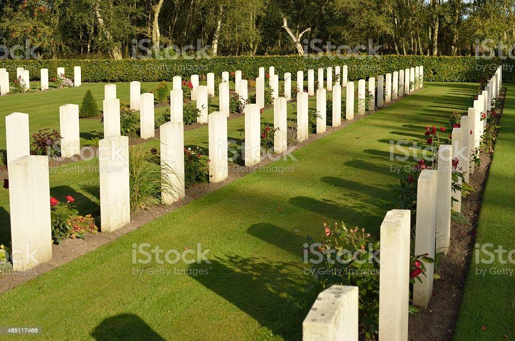 Commonwealth War Graves stock photo