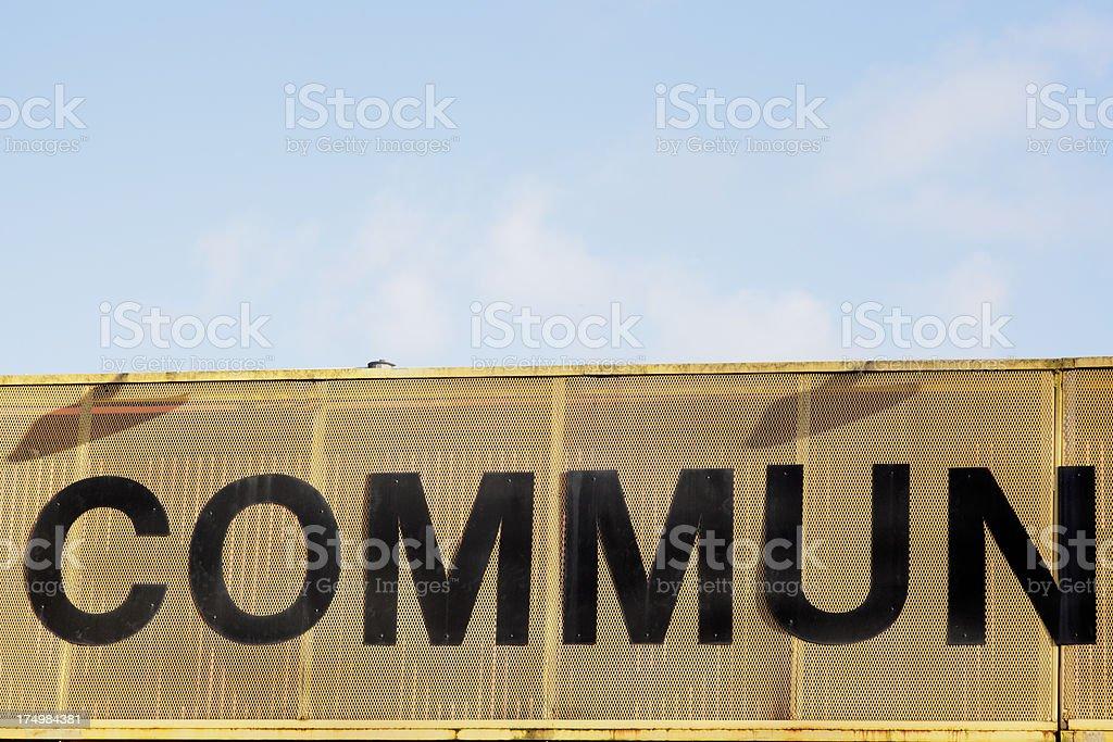 Commun royalty-free stock photo